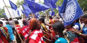 ikegame02_土地権の回復を訴えるダリト神学の信者の行進